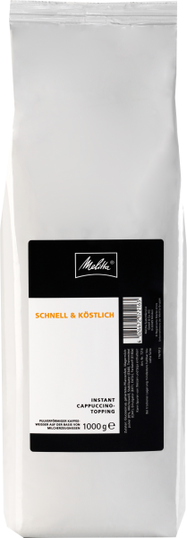 Melitta Instant Cappuccino Topping
